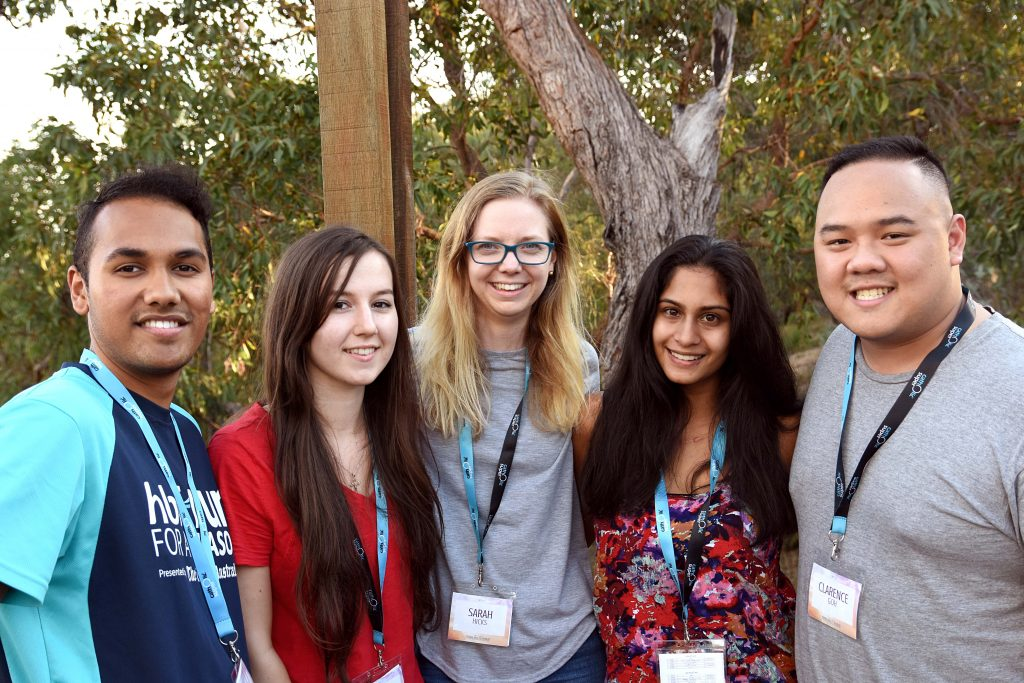 Young adults from across the archdiocese of Perth at the Catholic Youth  Ministry (CYM)