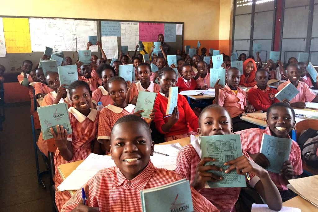 Students from Mukuru Primary School, one of the schools run by the Mukuru Promotion Centre. Photo: Supplied