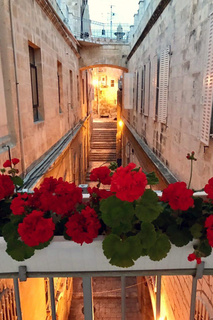 The view at Ecce Homo Convent, Jerusalem. Photo: Gemma Thompson