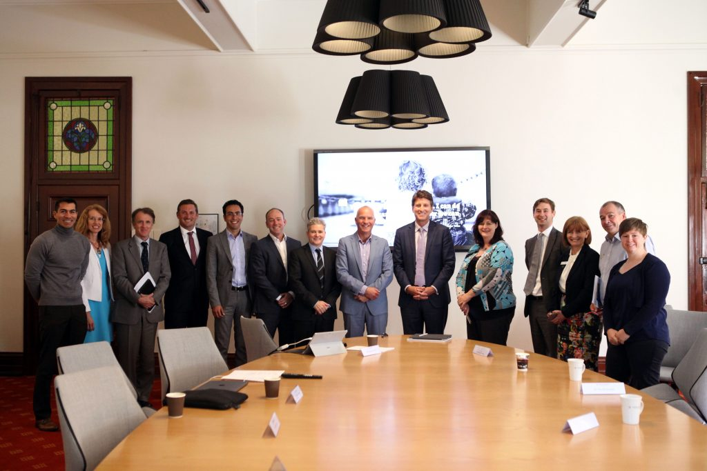 Microsoft Australia Managing Director Steven Worrall has last week confirmed Microsoft's commitment to create a landmark cloud-based digital ecosystem intended to transform education across the state. Photo: Supplied