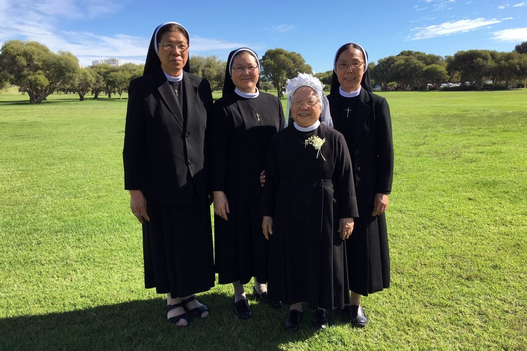 Sr Therese was already fully part of the Sisters of the Lovers of the Holy Cross of Thu Thiem but had to part ways and escape persecution due to the rise of Communism in Vietnam in 1975. Photo: Supplied.