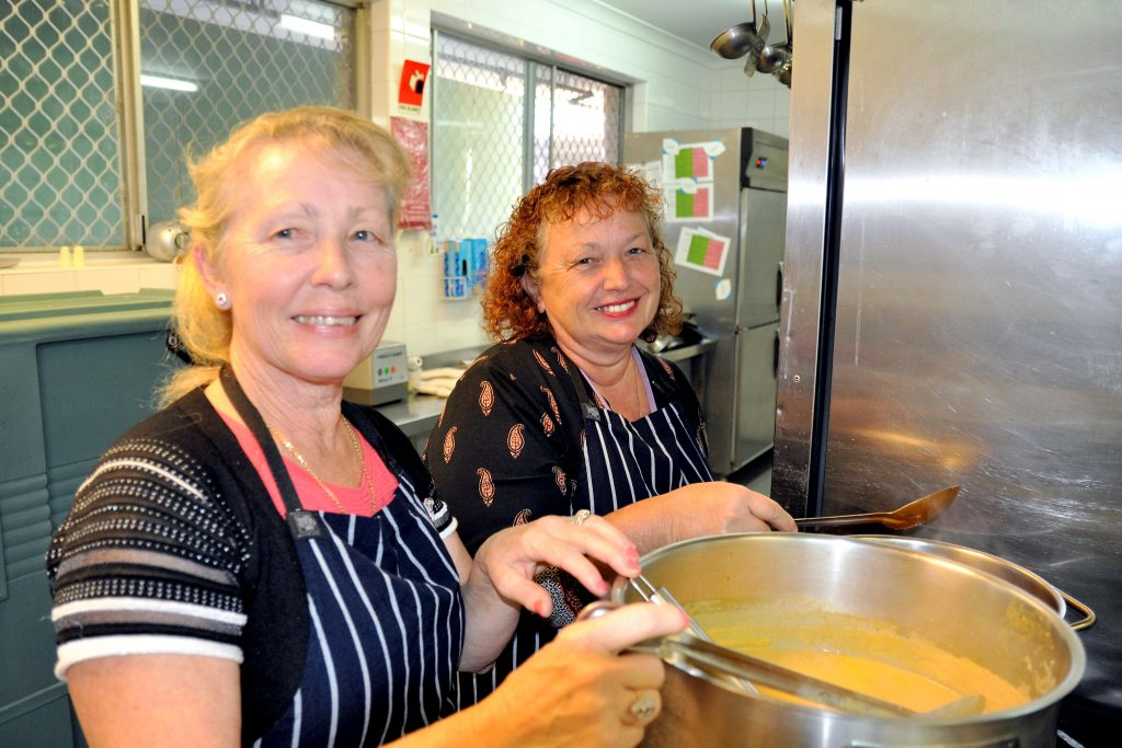 The 'cooking for the community' initiative is an innovative program that sees family members of the seniors at the home take turns each month to cook a traditional home-made dish for all seniors to enjoy. Photo Supplied.