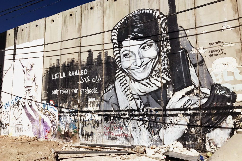 The Wall that divides the West Bank and Jerusalem. Photo: Gemma Thomson.