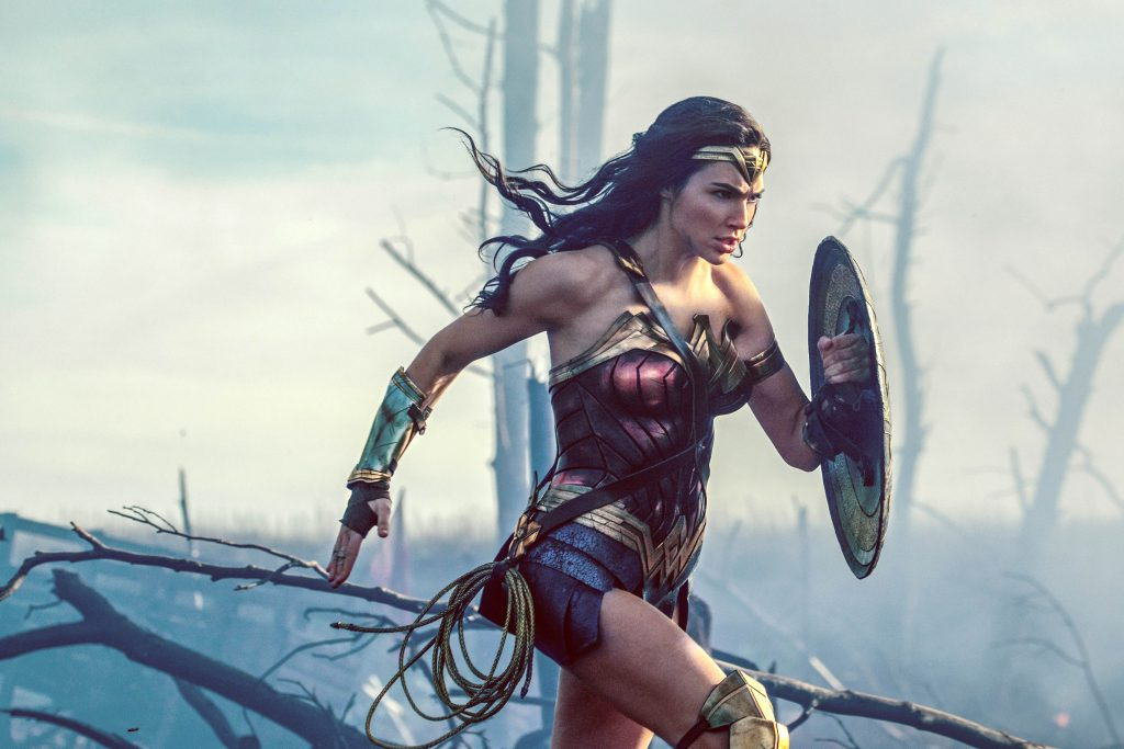 Gal Gadot stars in a scene from the movie Wonder Woman. Photo: CNS/Warner Bros.