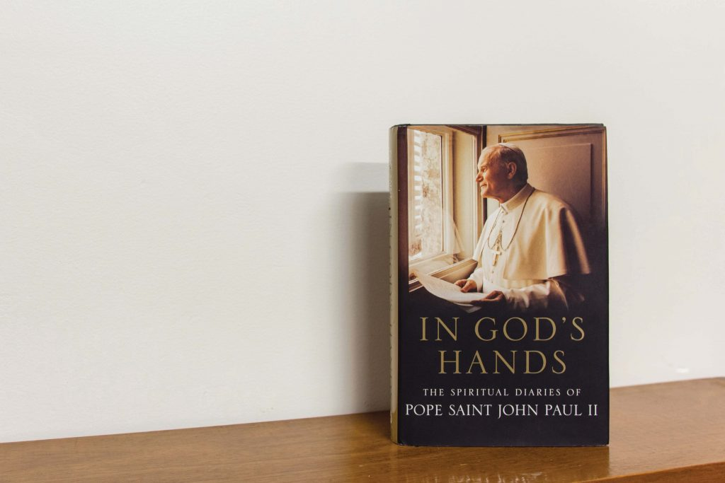 In reading the recently released In God's Hands: The Spiritual Diaries of John Paul II, it would be normal to question one's worthiness in having the opportunity to gain such an insight into one of the greatest minds the Catholic Church has seen. Photo: Sourced.