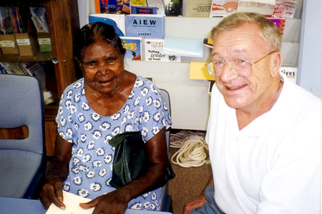 Fr Lorenz was a dedicated and caring member of the Church community in the Kimberley, particularly in Derby, where he was Parish Priest for many years. Photo: Supplied.