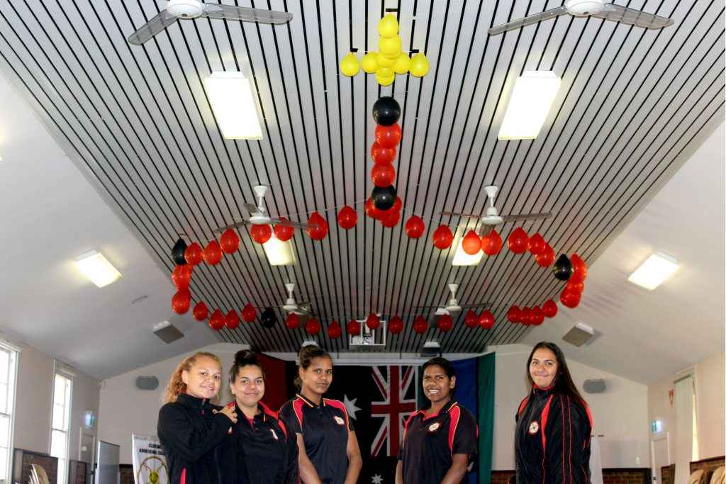 Clontarf College recently held, for the first time a Religious Education Week from 6 to 9 June to provide a connection between the religious education learning area and Aboriginal spirituality and culture for all its students. Photo: Supplied.