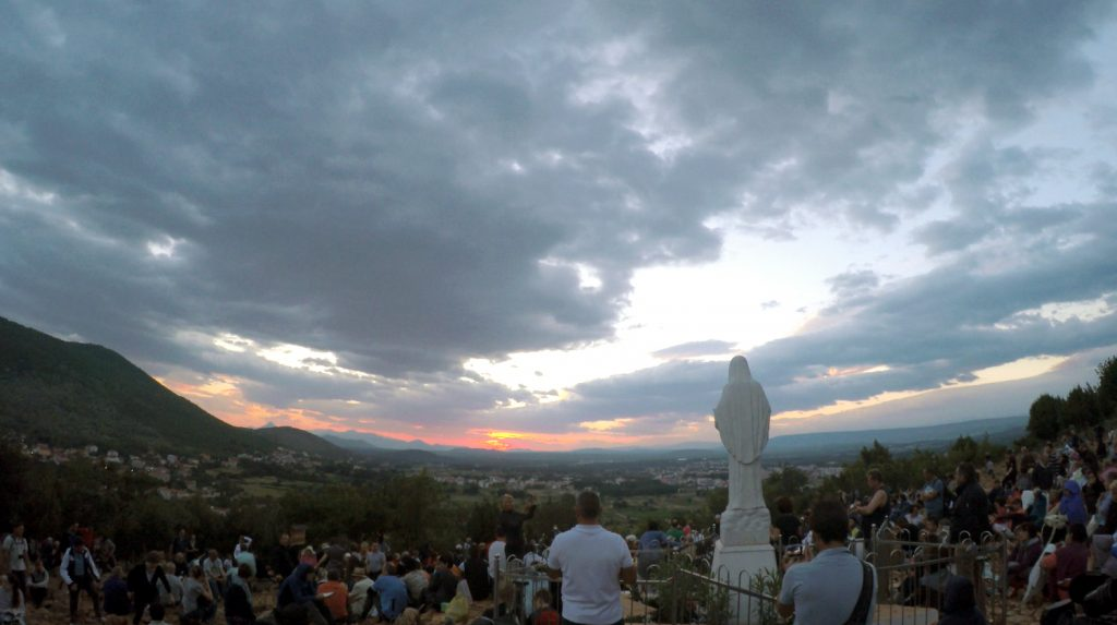 If you're looking for an introduction to the Marian apparitions at Medjugorie, and their impact on people who visit the site, then 2016 film Apparition Hill provides an interesting entry point. Image: Supplied.