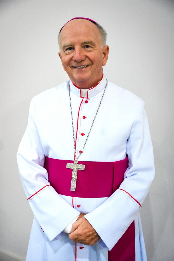 Internationally respected canon law expert, the Bishop of Toowoomba, Most Reverend Robert McGuckin says he is looking forward to working more closely with BBI – The Australian Institute of Theological Education as a newly-appointed Director. Photo: Supplied.