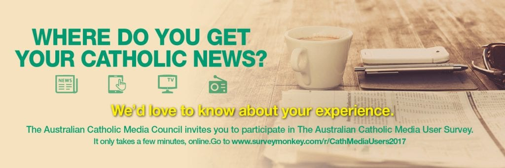 Time is running out for you to take part in the first ever Australian Catholic Media User Survey. Photo: Supplied.