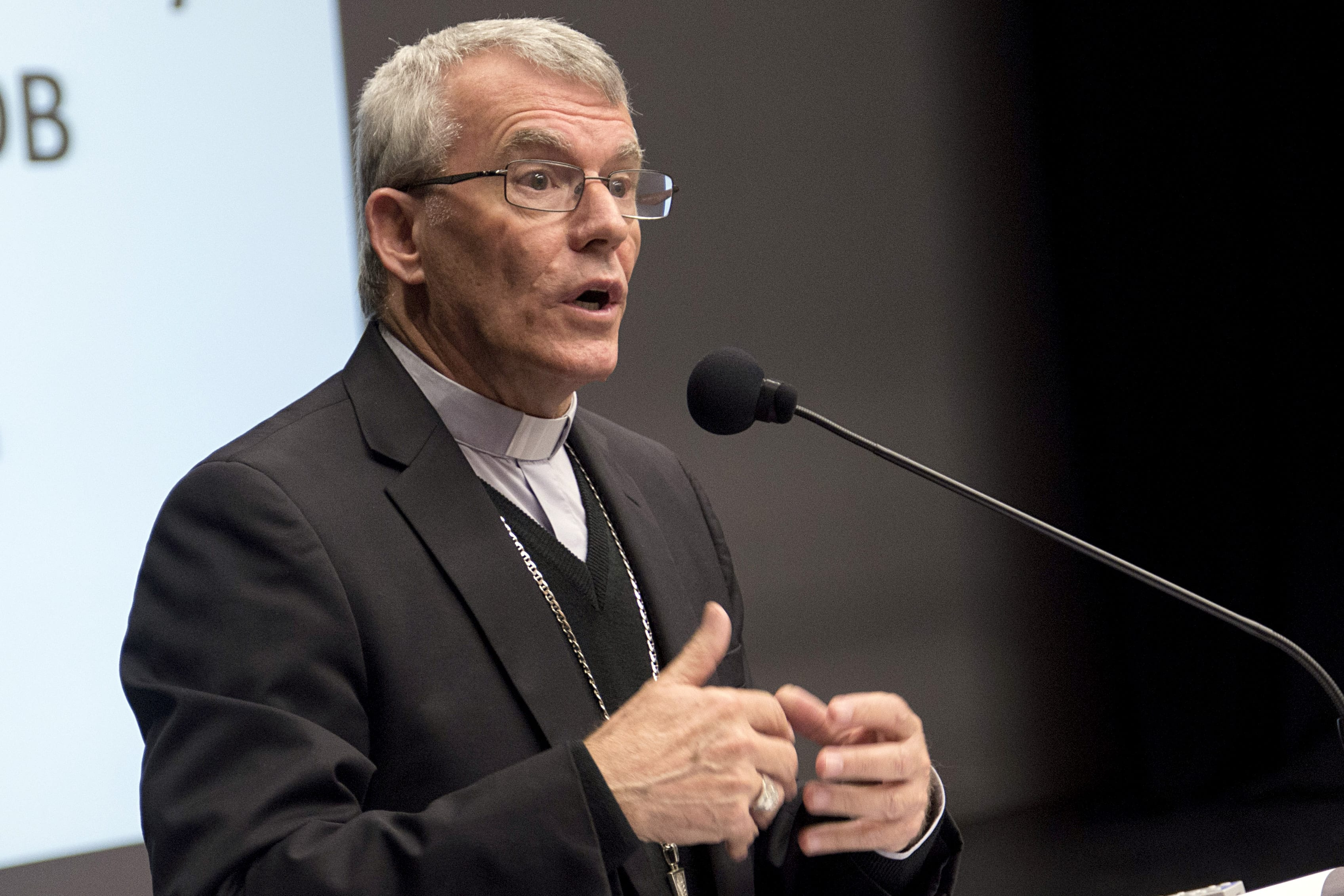 Archbishop Costelloe said the hope for the Year of Youth is to come together to walk and engage with more young people across all areas of the Church. Photo: Josh Low.