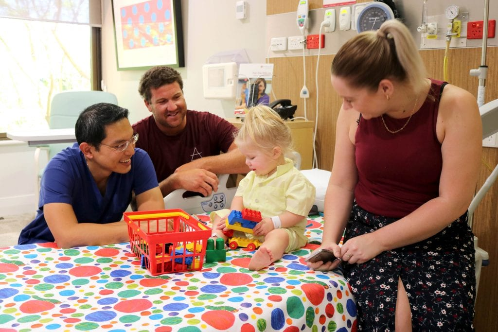 St John of God Murdoch Hospital will open a new children's paediatric surgery ward to better meet the needs of families who live south of the river. Photo: Supplied.