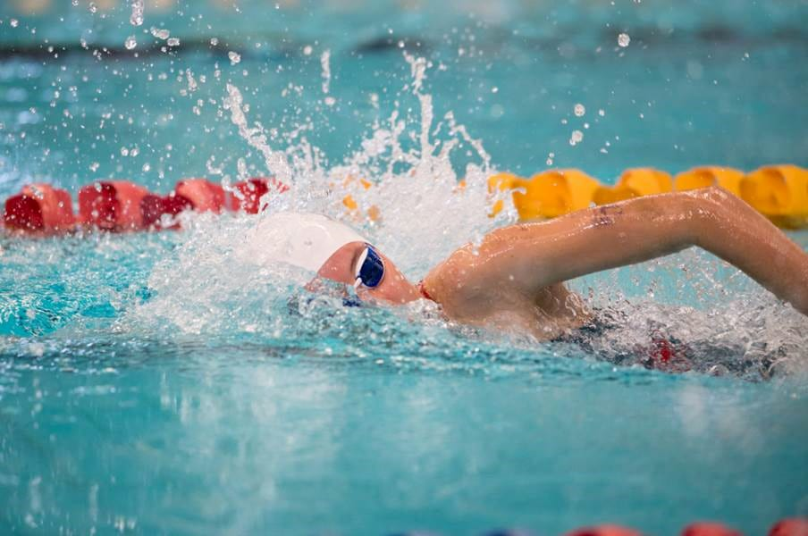 Chisholm Catholic College pupil Jaymie Lutton represented WA at the 2018 School Sport Australia Swimming Championships in Hobart this past week. Photo: Supplied.