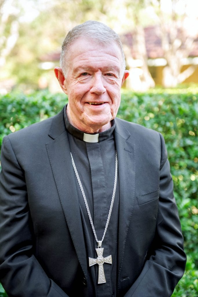 Bishops Commission for Pastoral Life Chairman Bishop Terence Brady. Photo: ACBC.