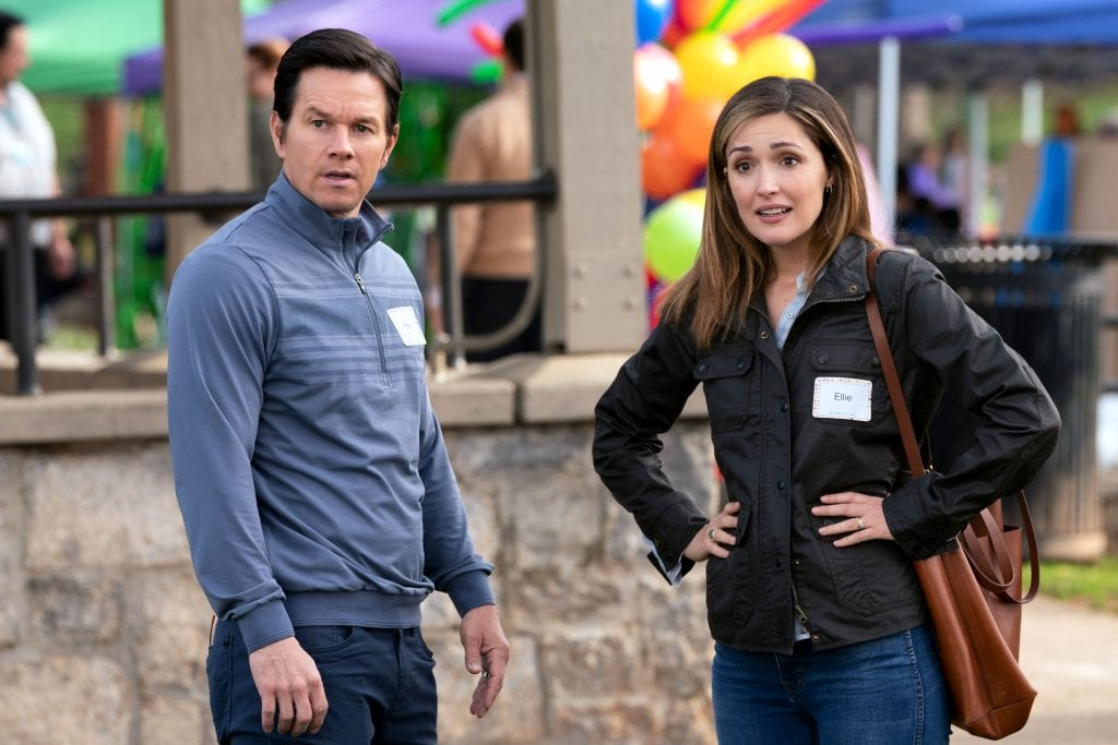 """Mark Wahlberg and Rose Byrne star in a scene from the movie """"Instant Family"""". Photo: Paramount Pictures/CNS."""