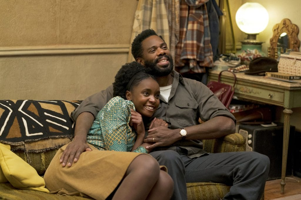 """KiKi Layne and Colman Domingo star in a scene from the movie """"If Beale Street Could Talk"""". Photo: Annapurna/CNS."""