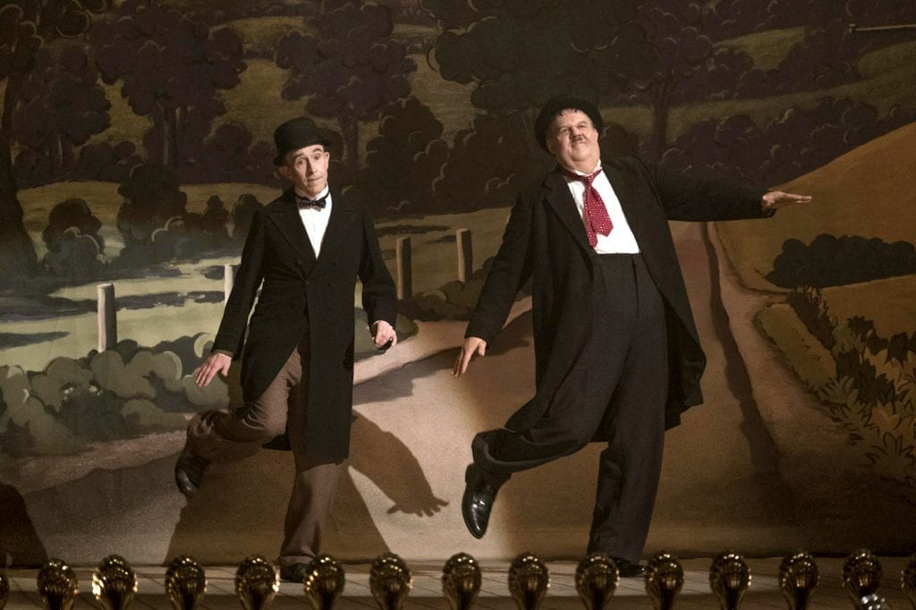 "Steve Coogan and John C Reilly star in a scene from the movie ""Stan & Ollie"". Photo: Sony Pictures Classics/CNS."