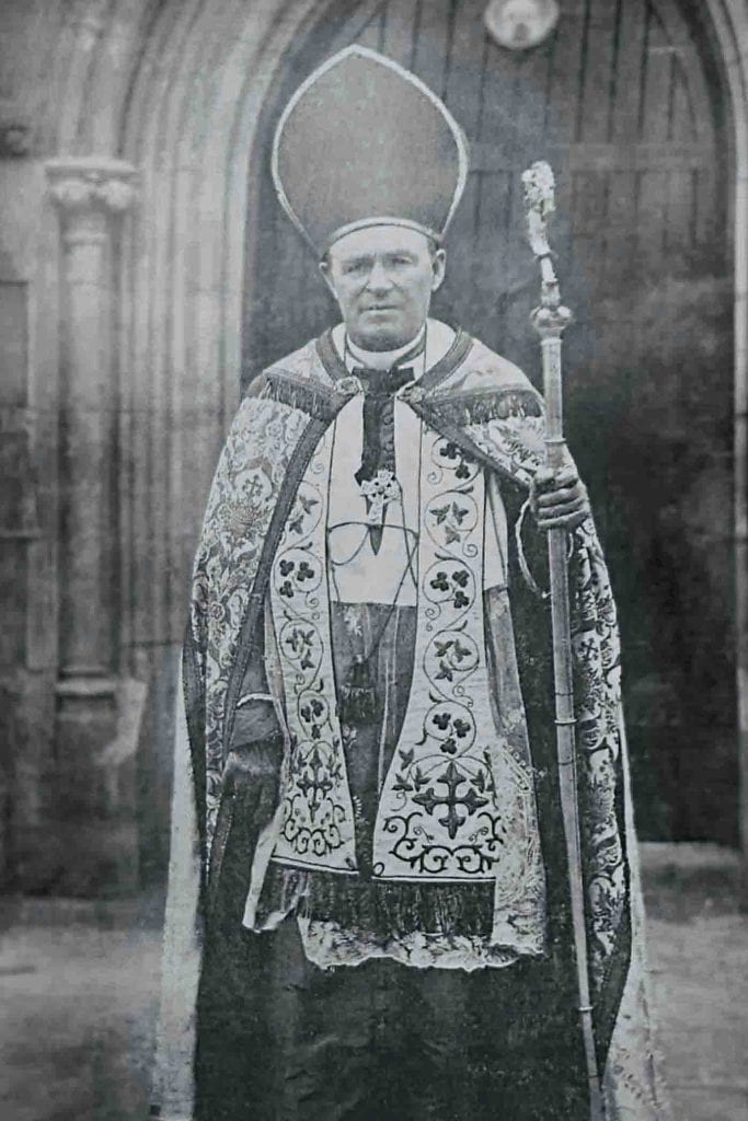 Perth Emeritus Bishop Matthew Gibney had to be represented by a priest at the 1905 Plenary Council, as Bishop Gibney had been hospitalised in Sydney after falling ill during the sea-journey. Photo: Archdiocese of Perth.
