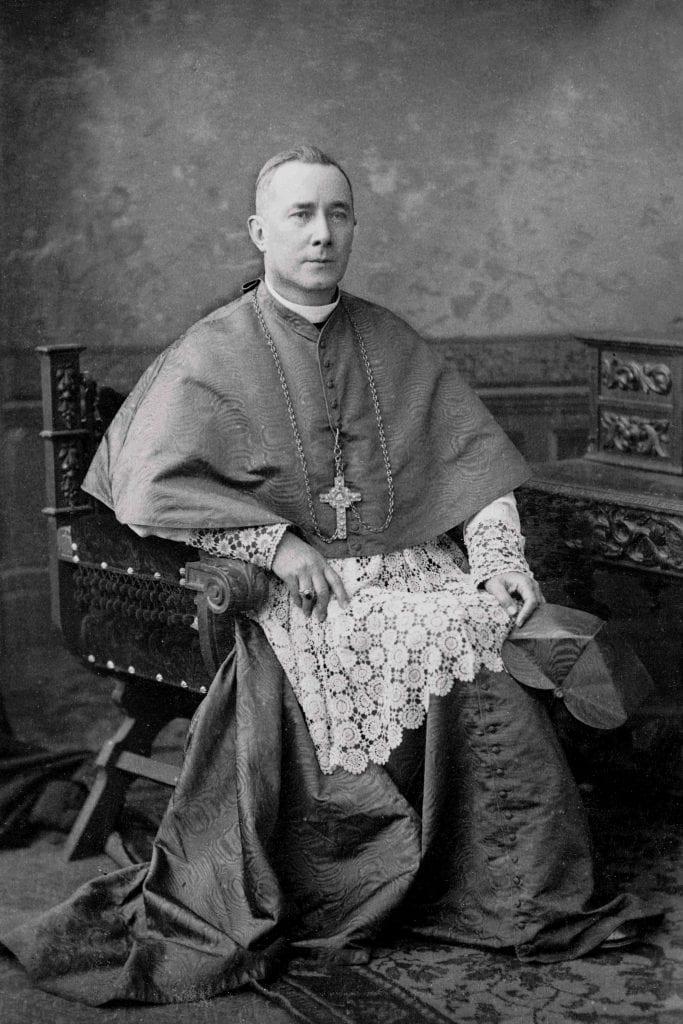 A statue of Cardinal Patrick Moran. Photo: Adobe.