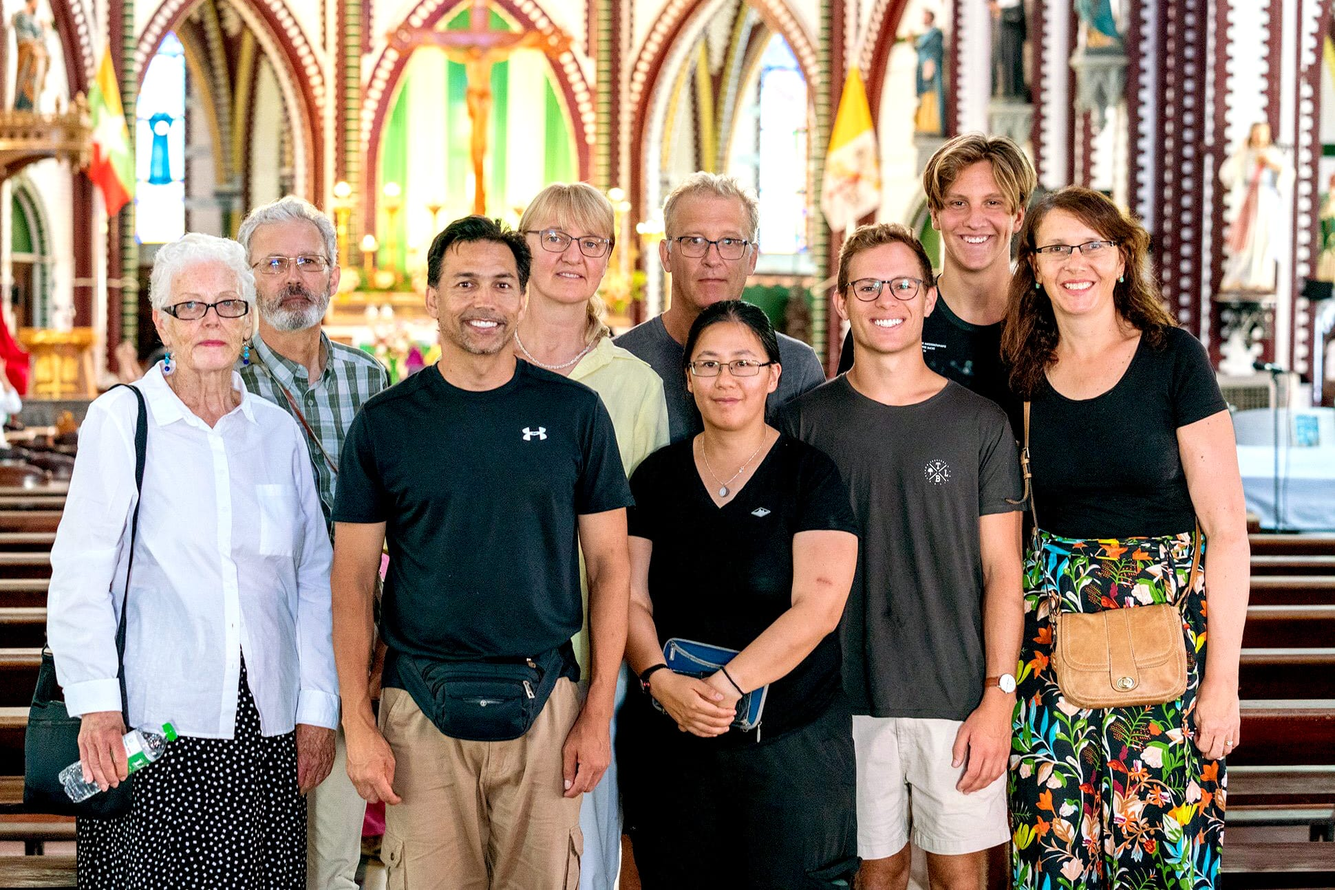 "The Catholic Mission 2019 ""Trek to Reach Out"" began on 31 January, and raised more than $22,000. Photo: Catholic Mission."