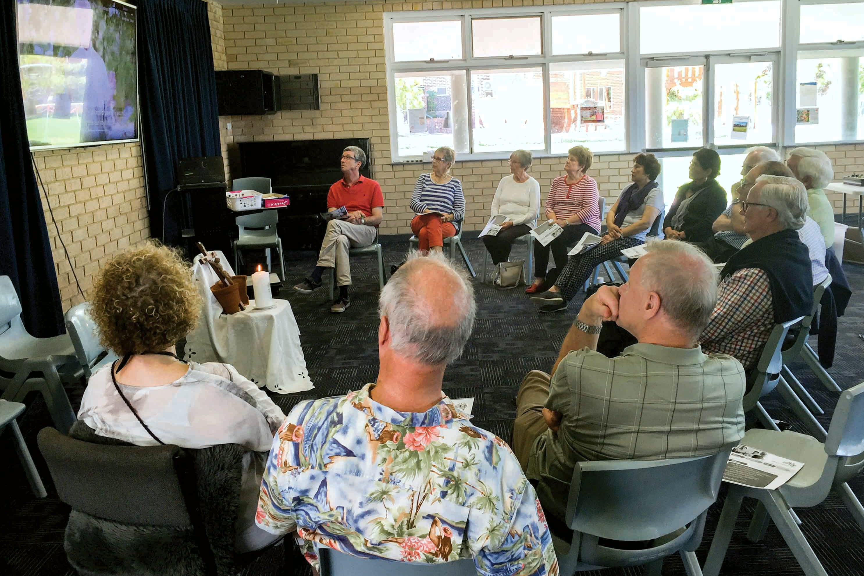 A Listening and Dialogue session at Claremont Parish. Photo: Supplied.