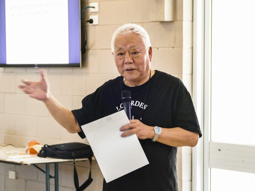 The Perth Catholic Chinese Community held their PC session on 12 January, led by PC animator couple Michael and Lucy Chan. Photo: PCCC.