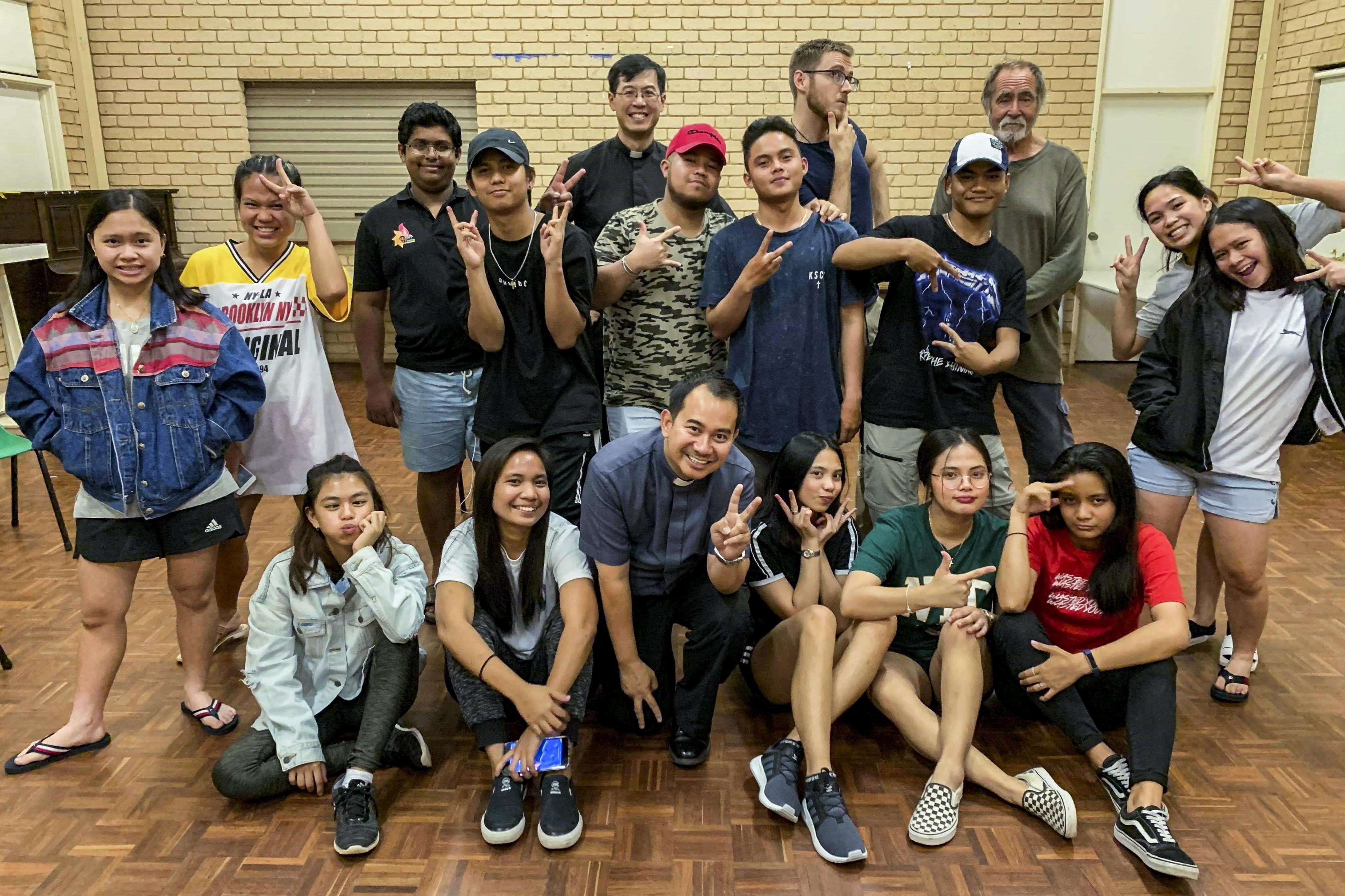 Members of the Goldfields Youth Ministry and Fr Jeffey Casabuena are excited at the prospect of attending ACYF this December. Photo: Supplied.