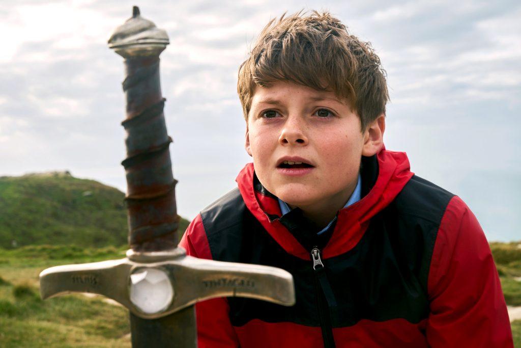 """Louis Ashbourne Serkis stars in a scene from the movie """"The Kid Who Would Be King"""". Photo: Fox/CNS."""
