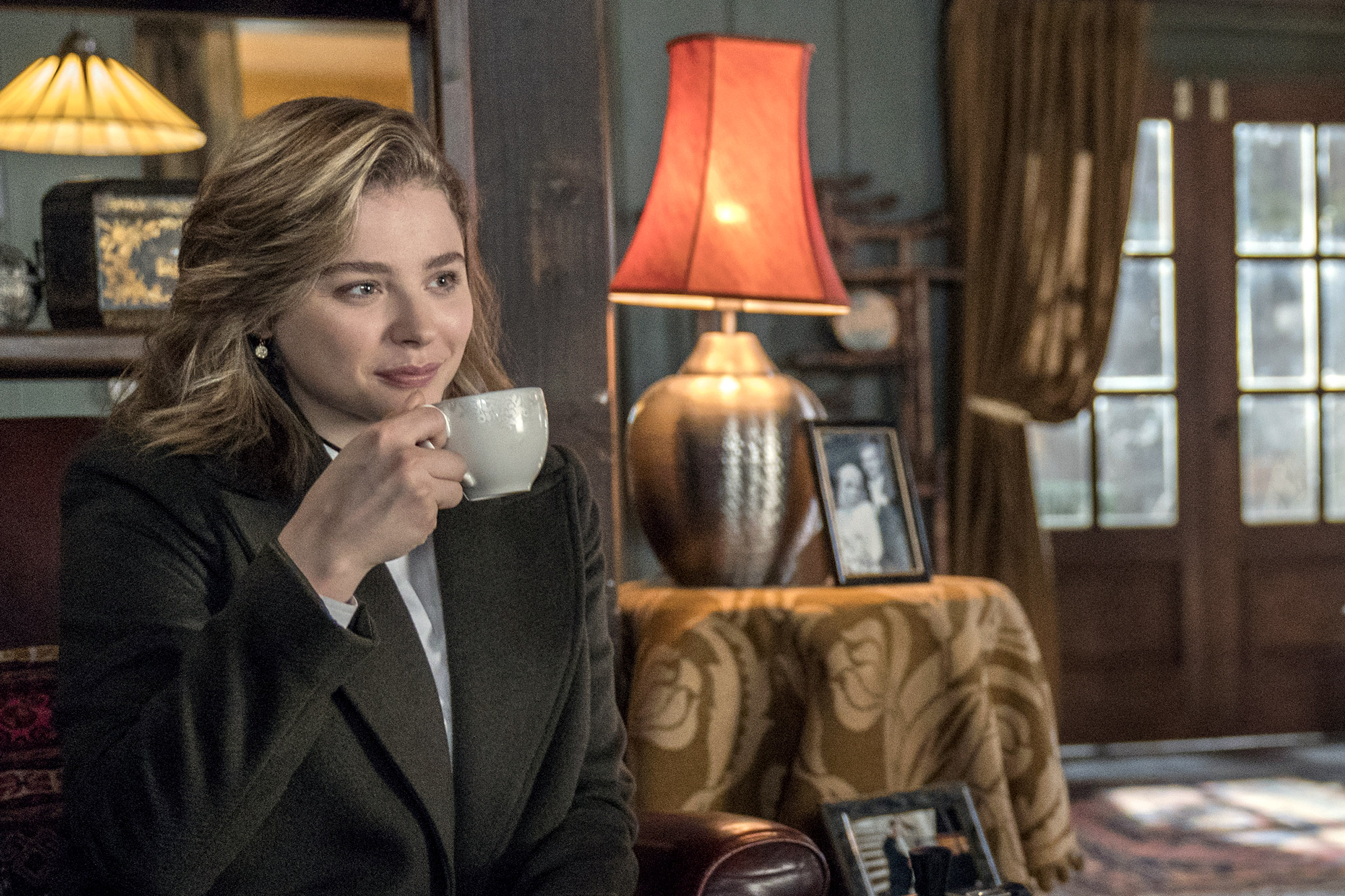 Chloe Grace Moretz and Isabelle Huppert star in a scene from the movie