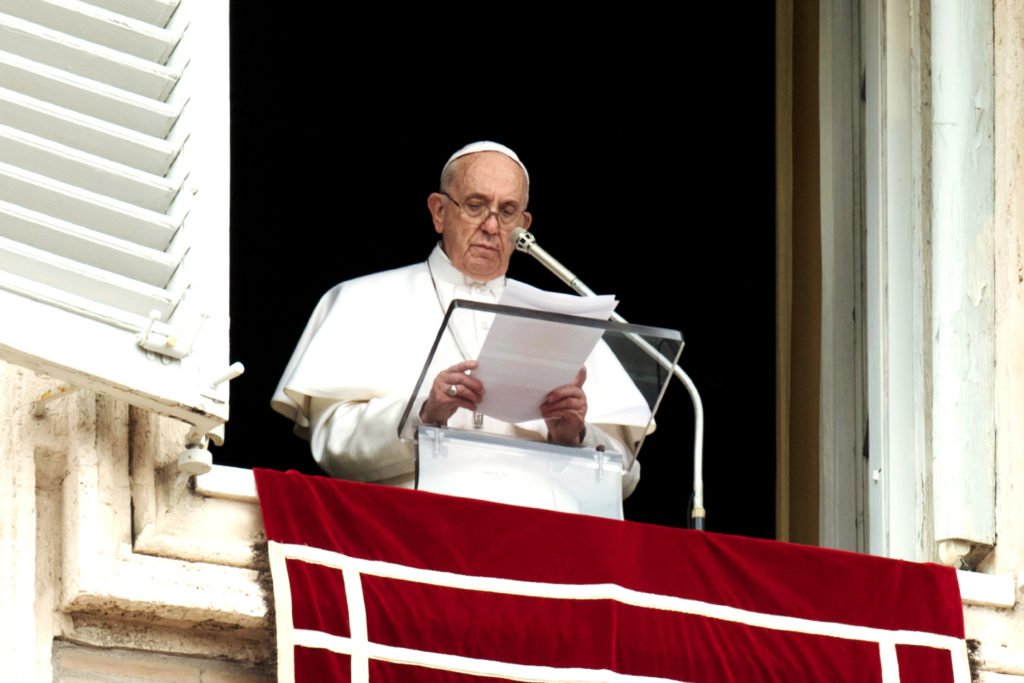 Pope Francis called on Christians to unite in prayer for the victims of two mosque attacks in Christchurch, New Zealand, that left 50 people dead and dozens wounded in one of the worst mass shootings in the country's history. Photo: Vatican Media/CNS.