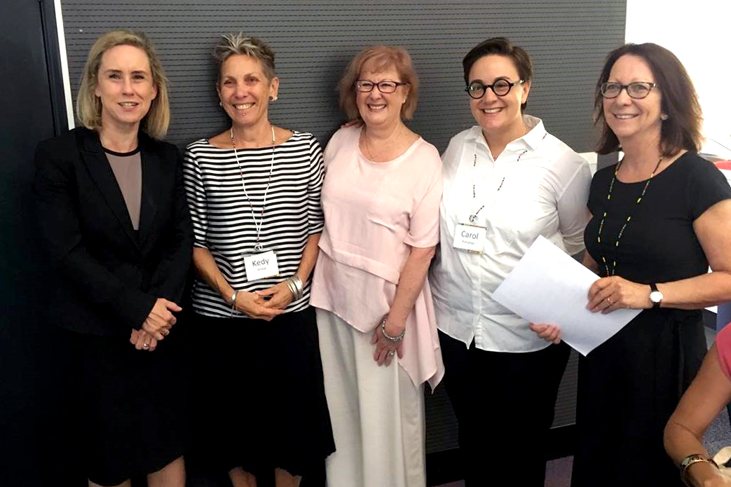 Some of the key organisers and speakers for the Forced Marriage Conference with Minister for Child Protection; Women's Interests; Prevention of Family and Domestic Violence; Community Services Simone McGurk held from 12 to 14 March at the Newman Siena Centre in Doubleview. Photo: Carol Mitchell.