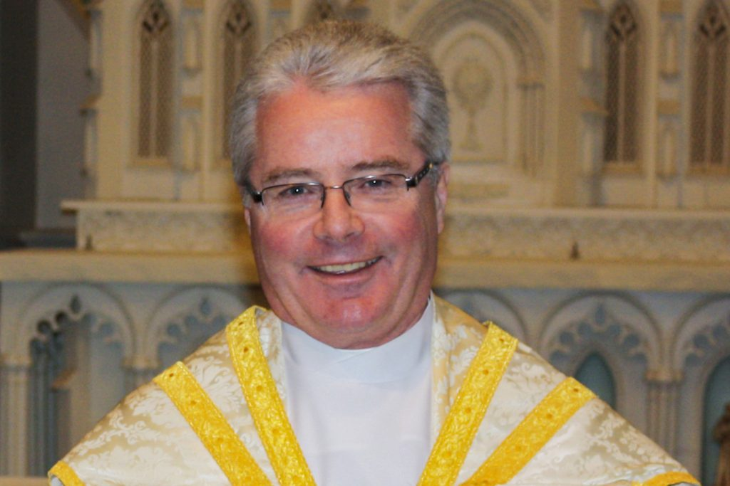 Pope Francis has last night Tuesday 26 March announced the appointment of Canadian priest Fr Carl Reid as the new Ordinary of the Personal Ordinariate of Our Lady of the Southern Cross. Photo: Supplied.