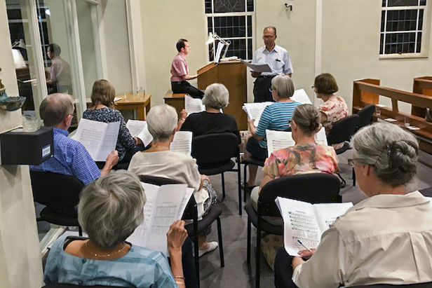Hymns for Lent, Holy Week and Easter (including Pentecost Sunday) were explored at the workshop. Photo: Supplied.