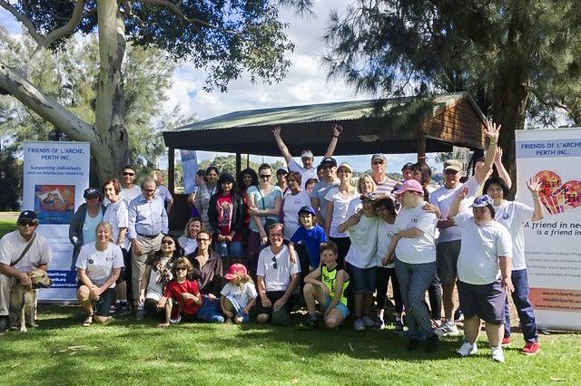 Community at WalkAbility: L'Arche Perth annual fundraiser. Photo: Supplied.