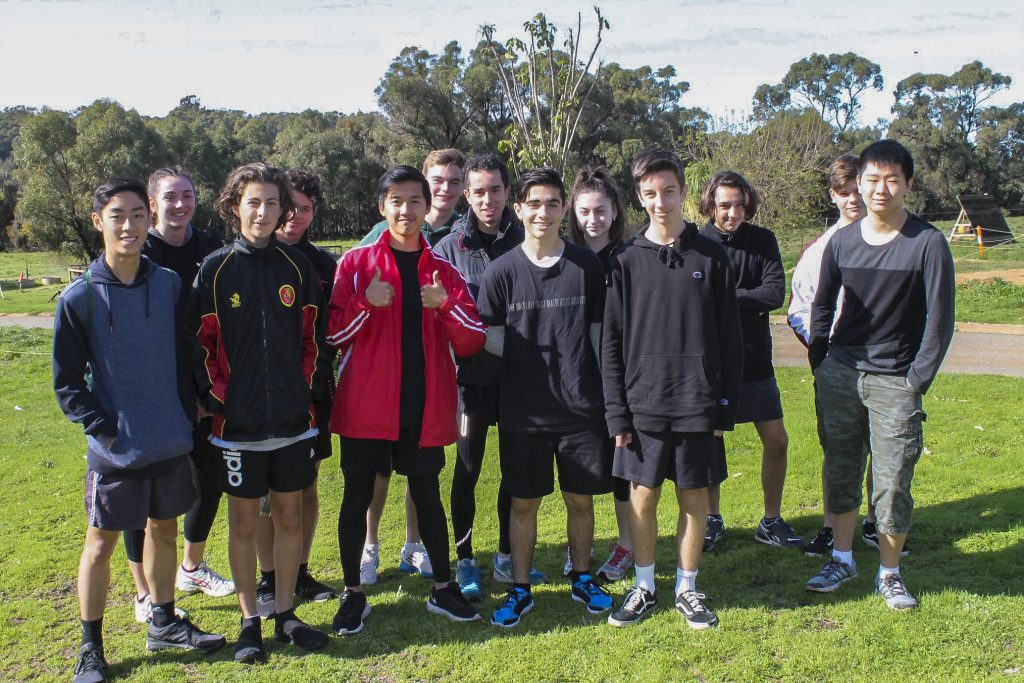 Commencing earlier this month, a group of Year 11 students launched an initiative to prepare and serve meals to people experiencing homelessness as part of the 'Homelessness: We Care' project. Photo: Supplied.