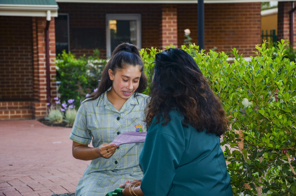 The program was launched to young girls in Year 9 and their families, involving both parties in a series of inclusive ceremonies each term. Photo: Supplied.