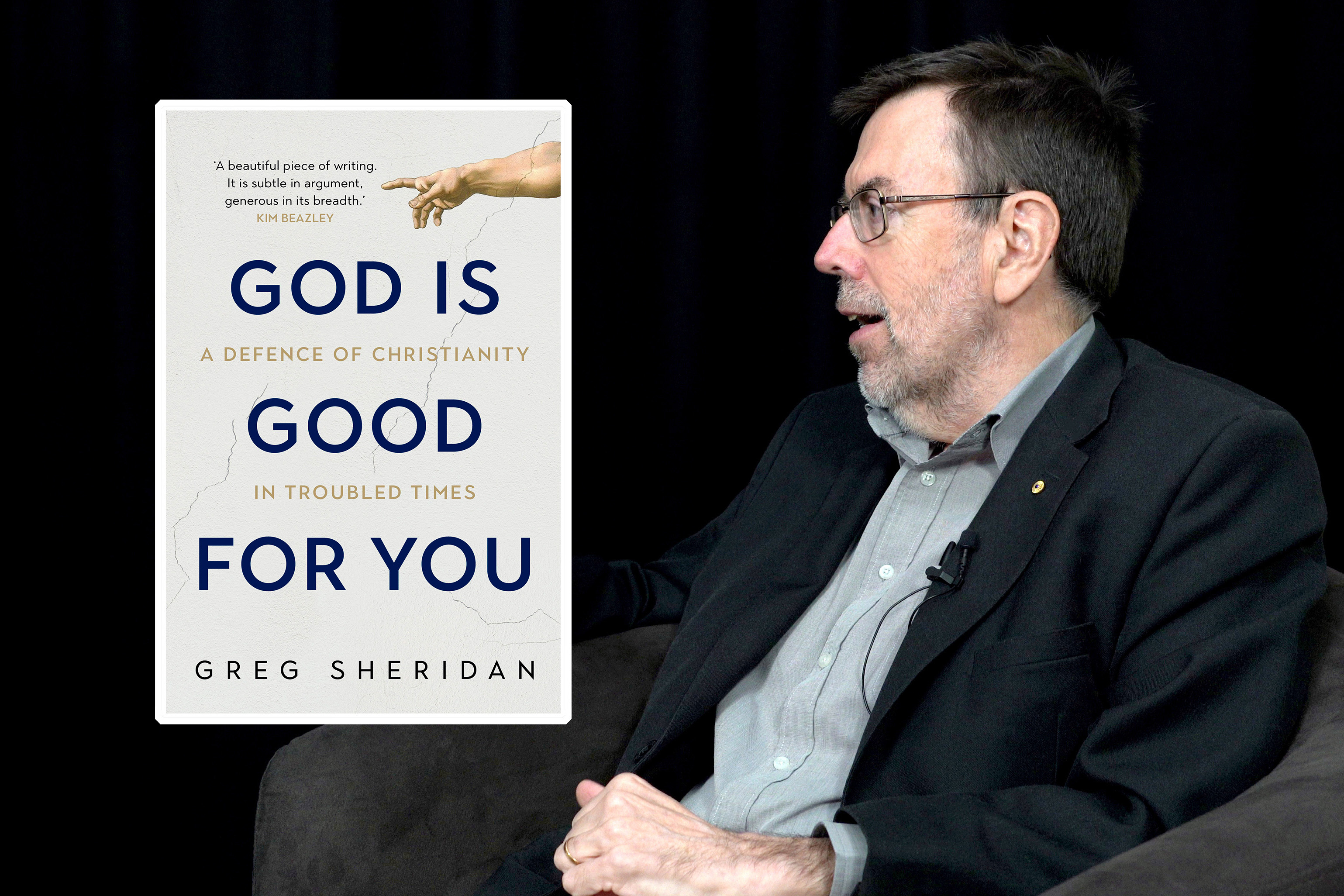 Mr Sheridan said he hoped that people from all age groups, religious backgrounds and beliefs (even atheists) would read and benefit from his book. Photo: Josh Low.
