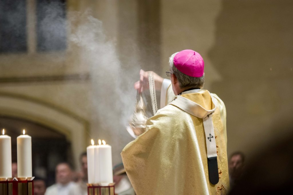 The Record » Renewal of faith and blessing of oils: Chrism Mass 2019