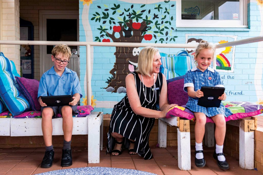 Students of St Mary's School in Northampton are part of CEWA's Low Fee Initiative project. Photo: Amanda Murthy.