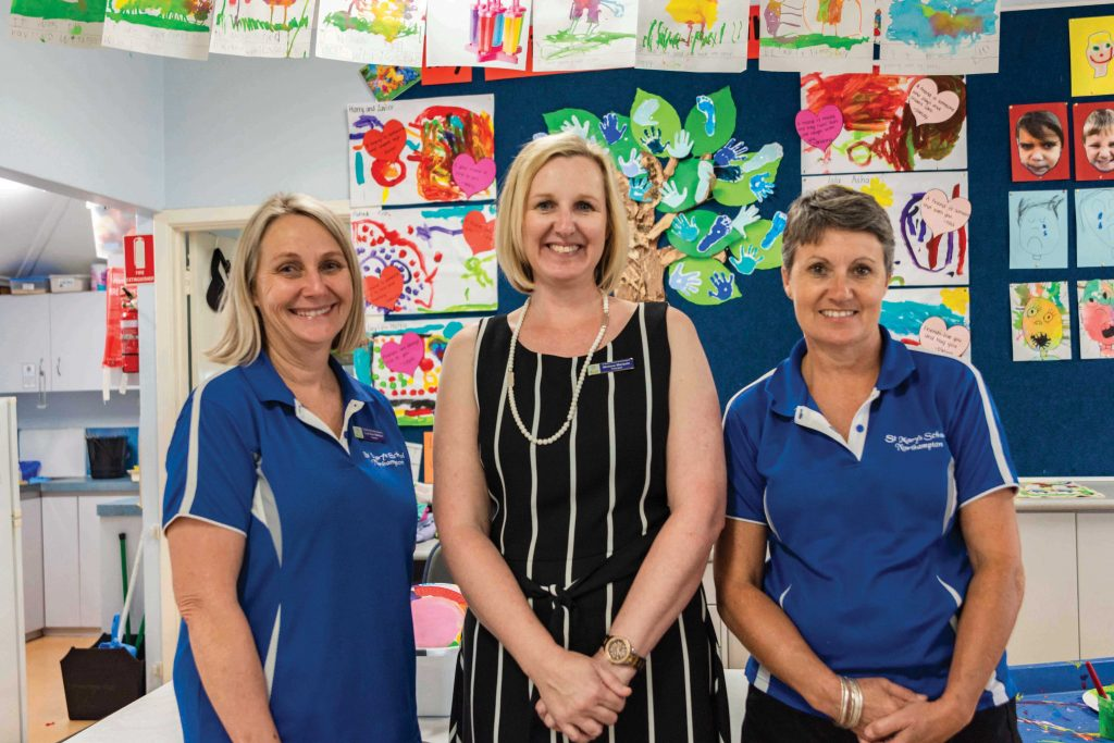 St Mary's School Principal and teachers are confident the Low Fee Initiative will help relieve the financial burden among their students.Photo: Amanda Murthy.