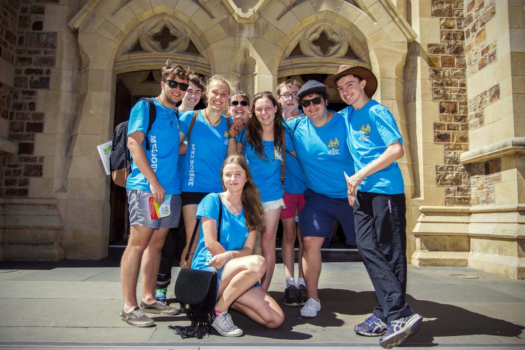 Melbourne youth are gearing up to attend the upcoming ACYF that will be held in Perth from 8 to 10 December 2019. Photo: Archdiocese of Melbourne.