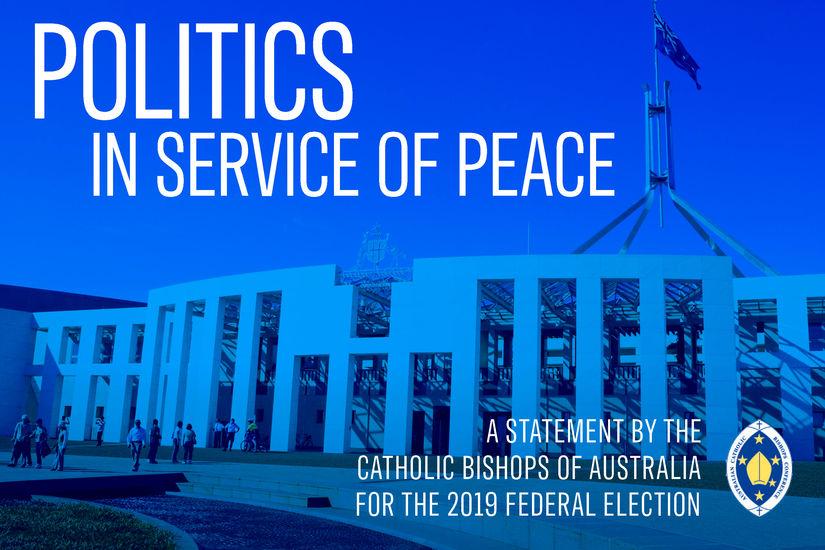 Australia's Catholic bishops have this week called for respect and understanding in the federal election campaign. Image: Supplied.