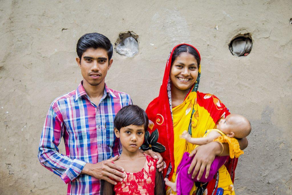 Salma, her husband and children live in a remote area of Bangladesh Photo Ashish Peter Gomes/Caritas Australia.