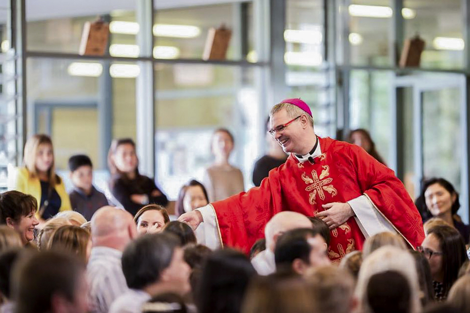 Melbourne Archbishop Peter Comensoli said ACYF is an important opportunity for young people to encounter and celebrate the vitality of the Church in Australia, that they are a critical part of. Photo: Supplied.