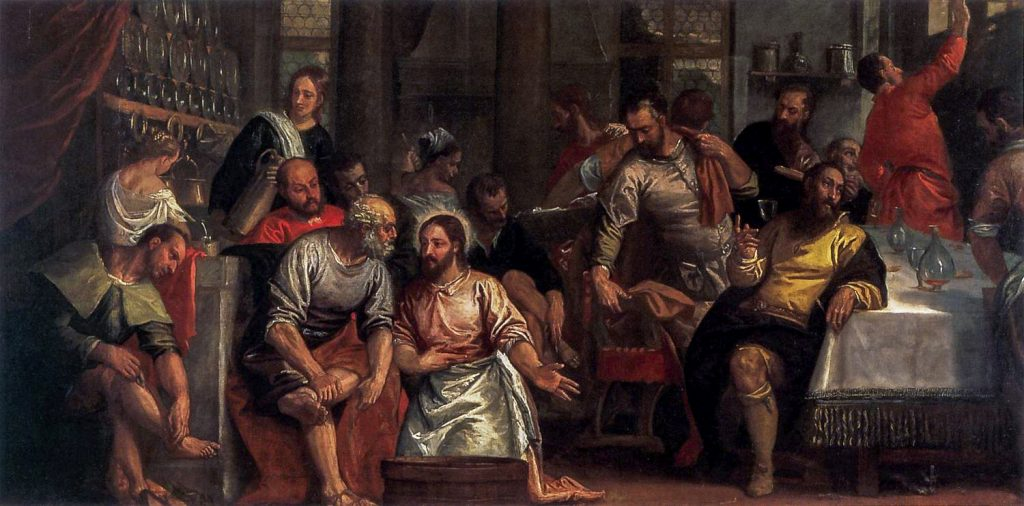 A depiction of Christ washing the feet of the disciples, by Paolo Veronese. In a thought provoking article for Holy Week, Fr Noel Connelly from the Plenary 2020 Facilitation team writes that we need to be careful of excessive concentration on our guilt. Image: Paolo Veronese/Adobe.