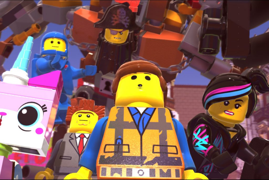 """This is an image from the video game """"The Lego Movie 2 Videogame"""". Photo: Warner Bros/Interactive Entertainment."""
