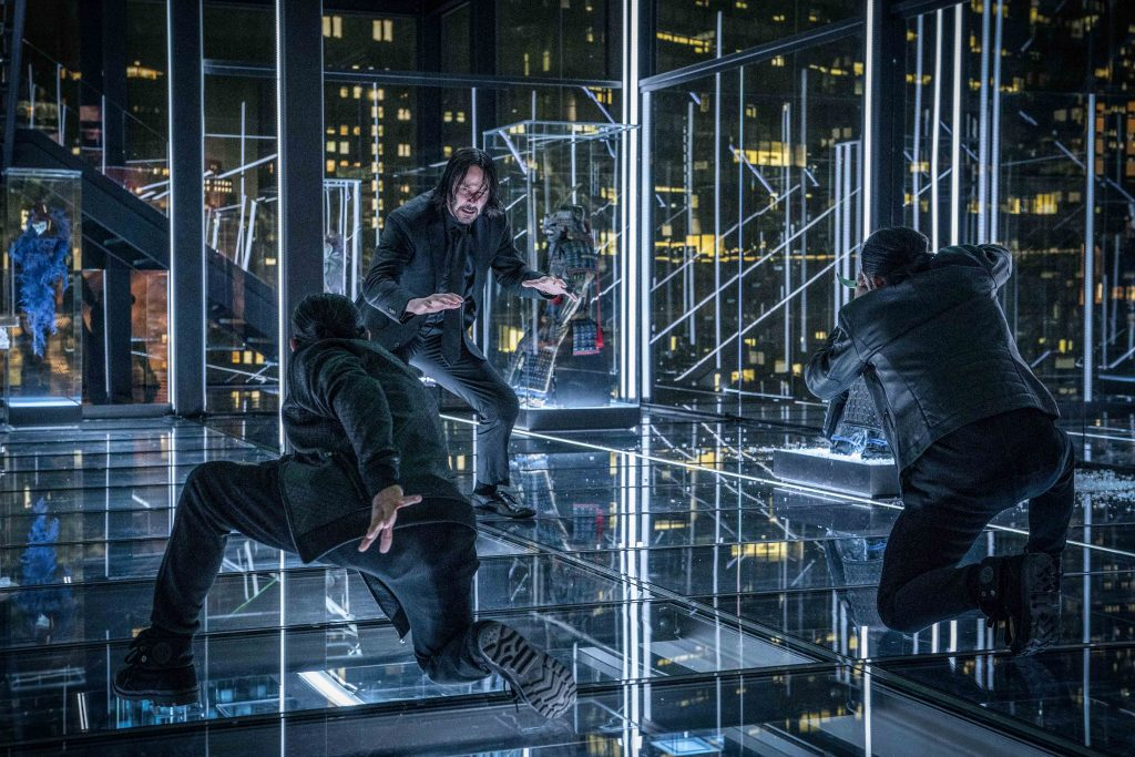 """Keanu Reeves stars in a scene from the movie """"John Wick: Chapter 3 – Parabellum"""". Photo: Lionsgate/CNS."""