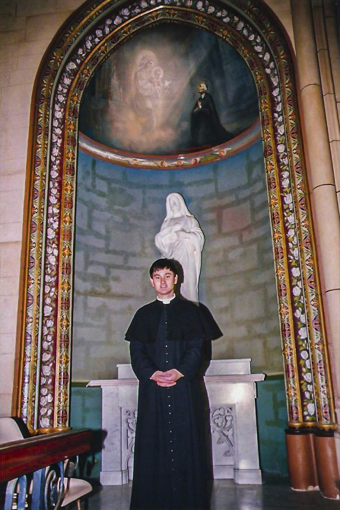 Fr Michael Rowe on the day of his Ordination to the Priesthood, May 21 1994. Photo: Supplied.