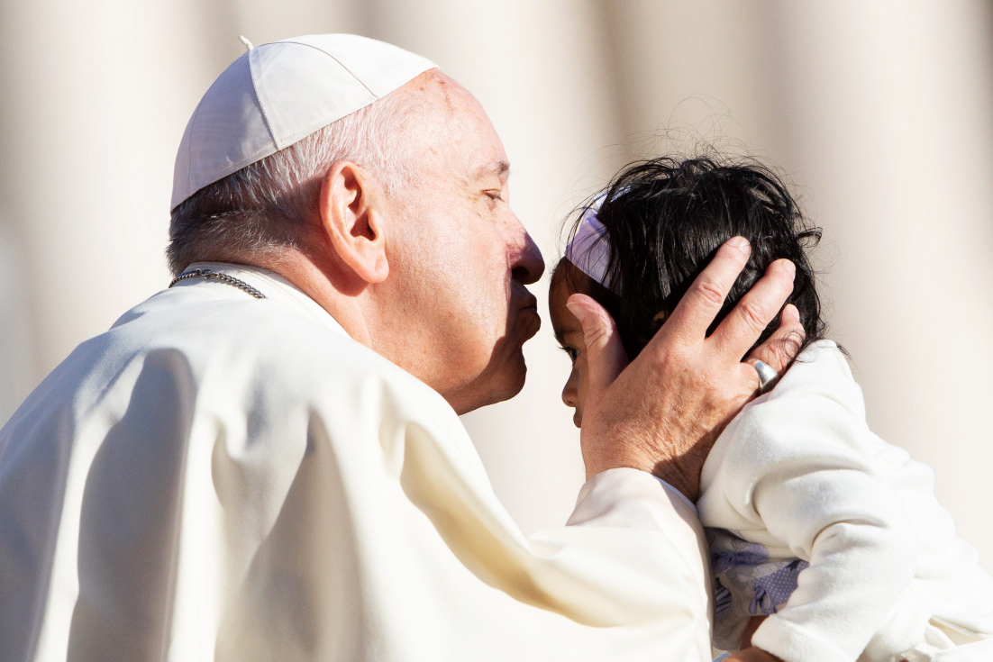 "Pope Francis has recently unearthed the ""Our Father"" in his catechesis on the Lord's Prayer. Photo: Catholic News Agency."