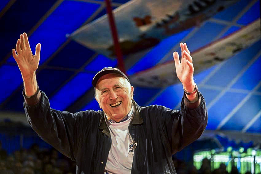 Jean Vanier will be remembered as a man of compassion and peace, a person of deep spiritual insight and gentleness. Photo: CNS.